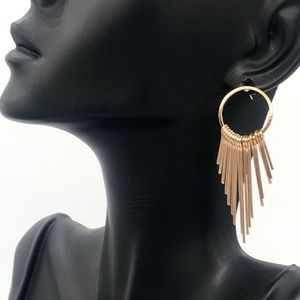 New gold tone earrings